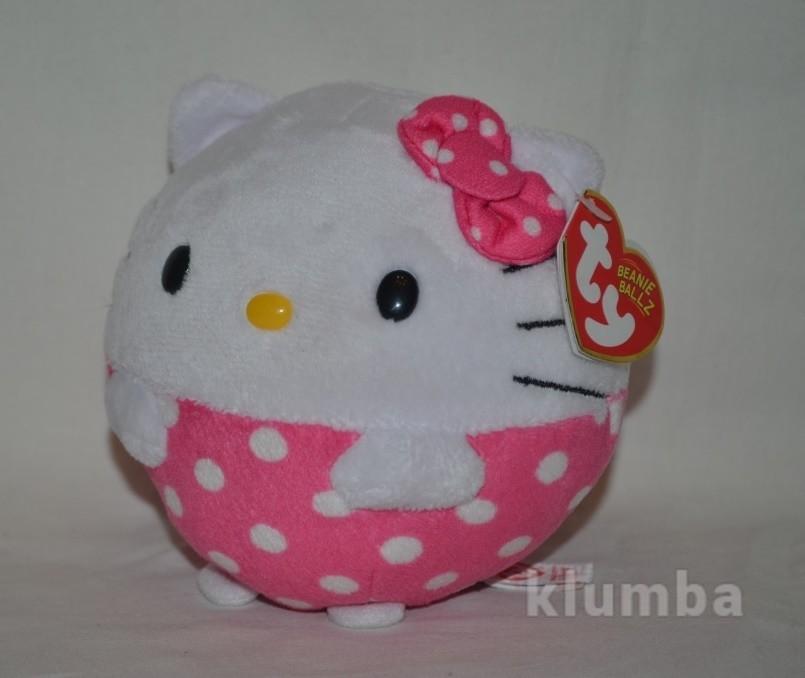 Новая обалденная мягкая игрушка мячик хеллоу китти hello kitty фото №1