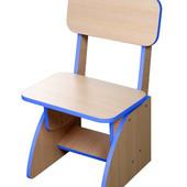Детский стульчик растущий синий