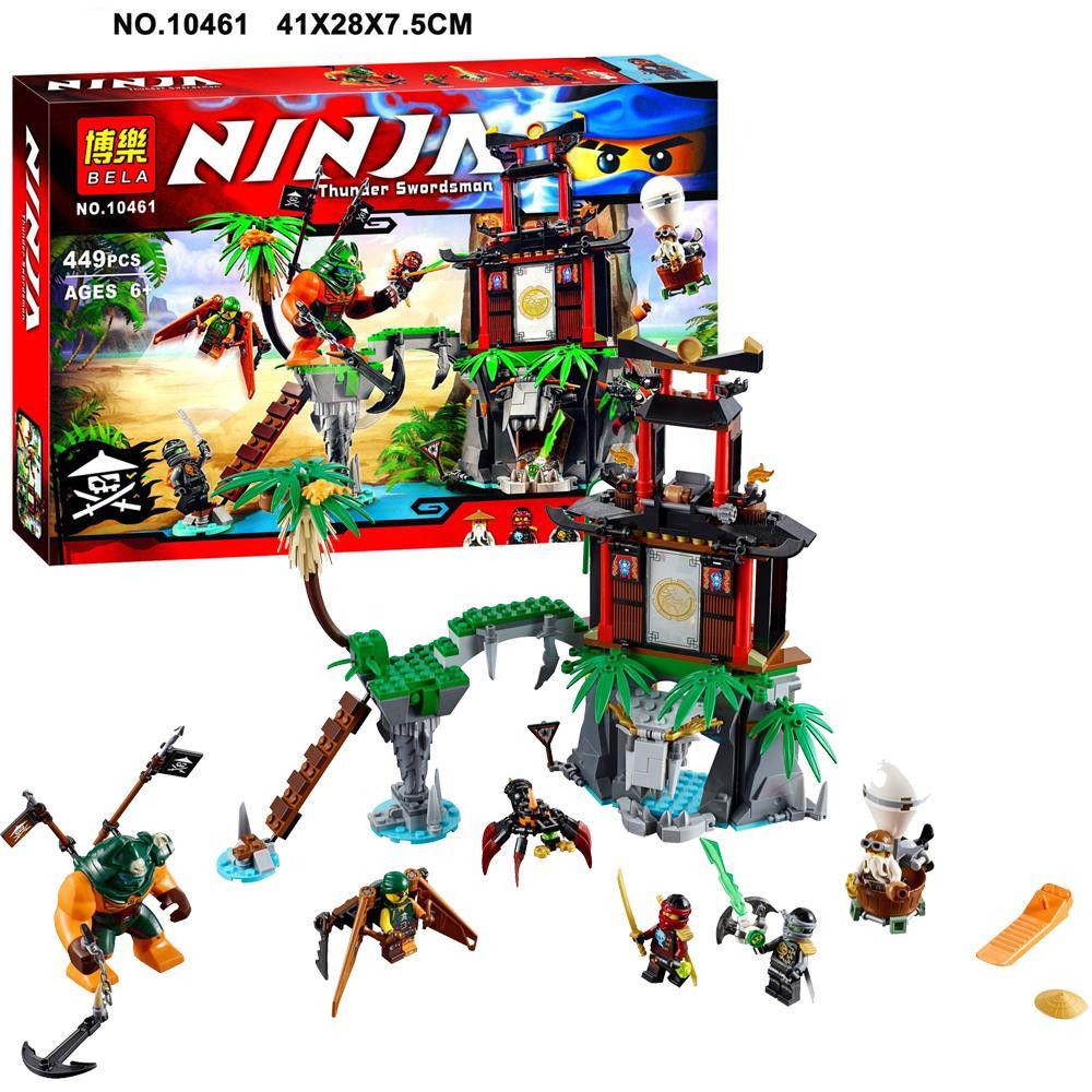 Конструктор bela ninja 10461 нінзяго 448 дет фото №1
