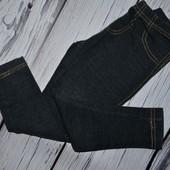 Лосины фирменные легинсы стрейчевые под джинс 4 года Next Некст