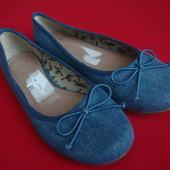 Балетки Clarks Blue 36-37 размер