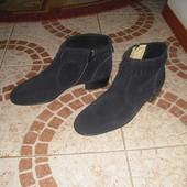 Сапожки Roky Shoe сині та бежеві 42 розмір 27 см Італія шкіра