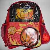 Оригинальный рюкзак для мальчиков с баскетбольным кольцом и мячиком (США)