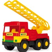 "Машина пожарная Wader ""Middle truck"" 39225"