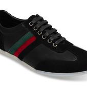 Кожанные мужские кроссовочки Польша