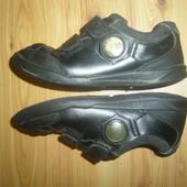кожаные туфли  Clarks. стелька 20 см
