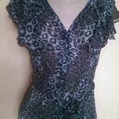 Эффектная легкая блузочка Papaya р 12