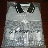 Новая стильная мужская рубашка р. 50-52