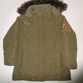 Курточка теплая для девочки 10 лет на рост 140-146 см