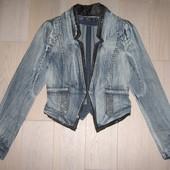 Джинсовий піджак пиджак Shaliaini на ріст 158 - 164 см