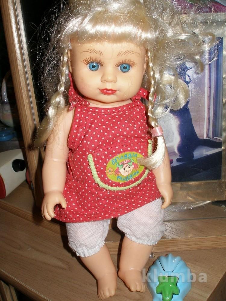 473 кукла av -0501 28см. говорит фото №1