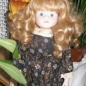 468. Кукла 41см,1983 г.фарфоровая.