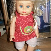473. Кукла AV -0501 28см. говорит -мама, папа.