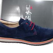 Мужские туфли из натуральной замши, производитель Испания!