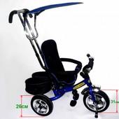 Детский трехколесный велосипед Tilly Combi Trike bt-tc-609 (bt-ct-0011) blue (синий)