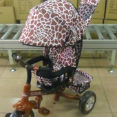 Велосипед трехколесный Zoo-Trike Tilly 0005 Brown.