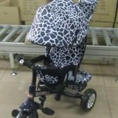 Детский трехколесный велосипед Tilly zoo-trike bt-ct-0005 grey (серый)