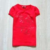 Новая яркая футболка для девочки. Tik&Tak (Франция). Размер 3 года, будет дольше.
