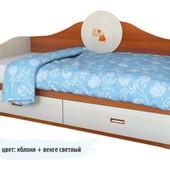 Гарантия 2 года! Детский диван 2 ящика, 120х190 см, укр. производитель