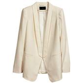 Классный пиджак от H&M, р. XL блейзер бежевый