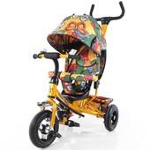 Велосипед трехколесный T-351-7 Tilly Trike Золотой