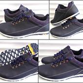 Демисезонная мужская обувь из натур кожи!