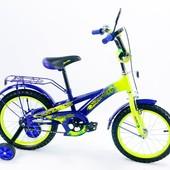 Детский 2-х колесный велосипед 14 дюймов 141406-B