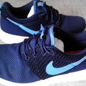 Кроссовки р.39 Nike Roshe Run Reflective Blue(оригинал)