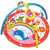 Коврик для младенца 898-208B радуга и животные
