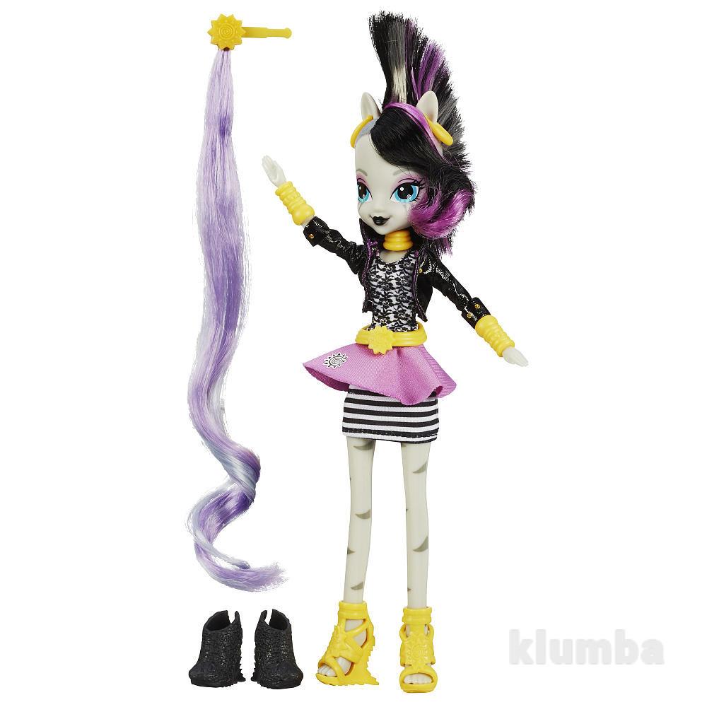 My little pony equestria girls ponymania zecora кукла зекора фото №1