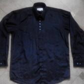 Мужская черная рубашка Dale р.52-54