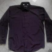 Мужская бордовая рубашка Senior Cardin р. 52-54