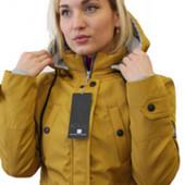 Стильная парка куртка пальто на весну осень от 42 до 54 размера
