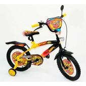 Велосипед 16 дюймов детский мульт 131609