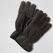 Теплющие мужские перчатки от тсм Tchibo размер 8,5 и 9,5