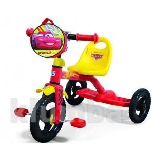 Детский трехколесный велосипед Disney Сars (0205C2) фото №1