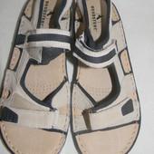 Мужские кожаные сандалии Woodstone р.42 дл.ст 27см