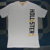 Футболка Hollister оригинал M  как новая производитель Турция,100% котон