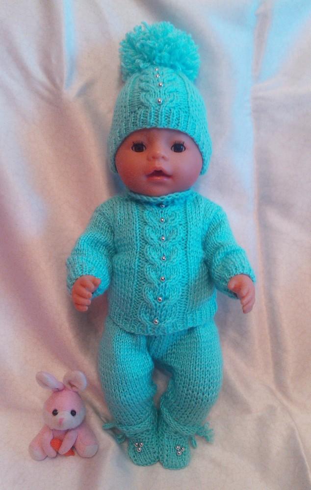 Одежда для кукол baby born ручной работы фото №1
