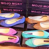 Балетки женские Mojo Moxy. 37, 5 - 39, 5. Замш кожа. Разные цвета.