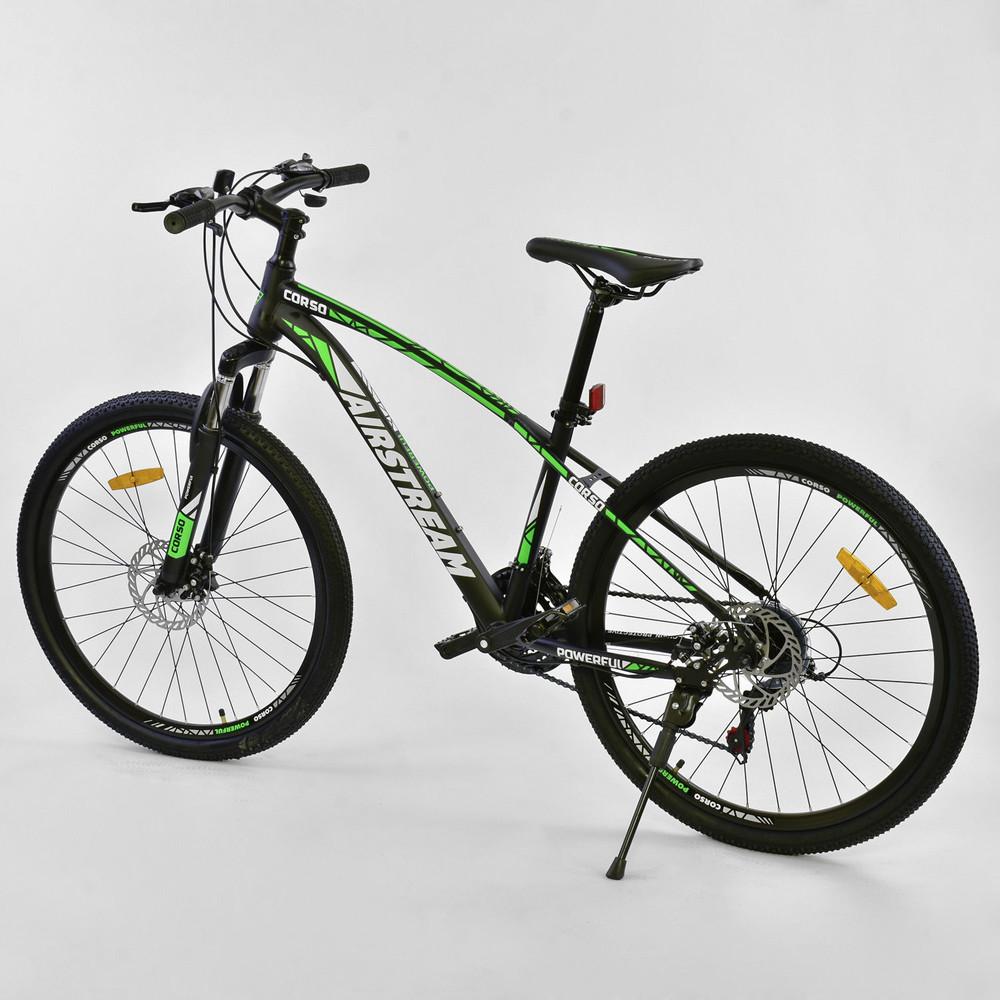 Corso airstream 26 дюймов велосипед спортивный одноподвес корсо горный фото №1