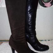 Сапоги ботильоны ботинки Attitude кожа, в идеальном состоянии
