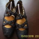 Шкіряні туфлі 38 р. Janet D