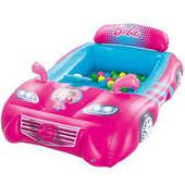 Детский надувной игровой центр Barbie с шариками BestWay 93207