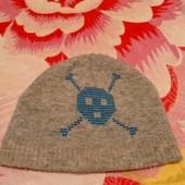 шапка череп 1-3 года