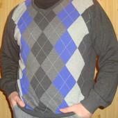 Фірмоий свитр  светрик-кардиган реглан  . бренд Cedarvood.хл -2хл .