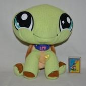 пет шопы pet shop игрушки зоомагазин Littlest pet shop LPS большая черепаха Hasbro оригинал