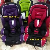 Универсальное детское автокресло 704 для детей весом от 9-ти до 36 кг