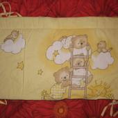 Защита Medison для детской кроватки из 2-х частей