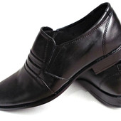 Классические туфли из натур кожи № 518